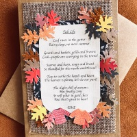 Crafting in August:  Write and Send a Poem