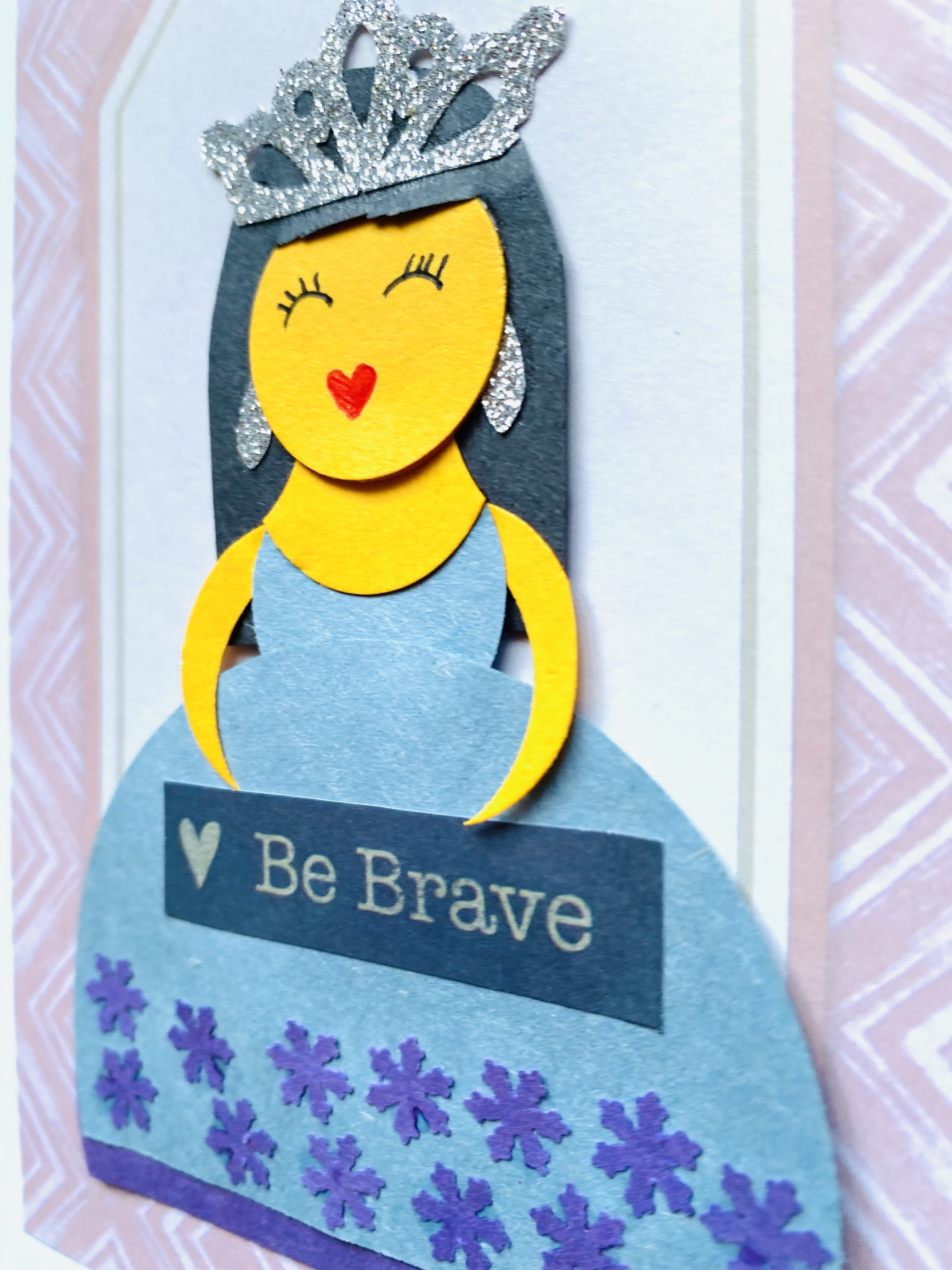 Princess Card Homemade