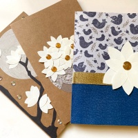How to Feature Magnolia Flowers on Cards